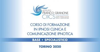 Corso di Formazione in Ipnosi clinica e Comunicazione ipnotica