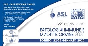 23° Convegno Patologia Immune e Malattie Orfane 2020