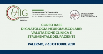 Corso base di Gnatologia Neuromuscolare: valutazione clinica e strumentale del paziente