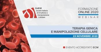 SIdEM FORMAZIONE ONLINE 2020 - Terapia genica e manipolazione cellulare