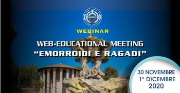 "Web-Educational Meeting SICCR ""Emorroidi e Ragadi"""